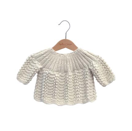 Brassière bébé laine mérinos