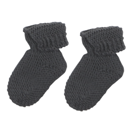 vetement-bebe-layette-chaussons-en-laine-merinos-gris-naissance