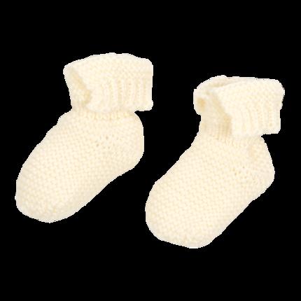 vetement-bebe-layette-chaussons-en-laine-merinos-ecru-naissance