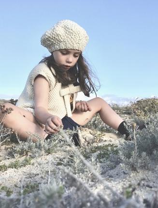Kit à tricoter béret enfant