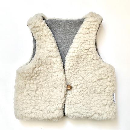 Gilet enfant laine Pyrénées