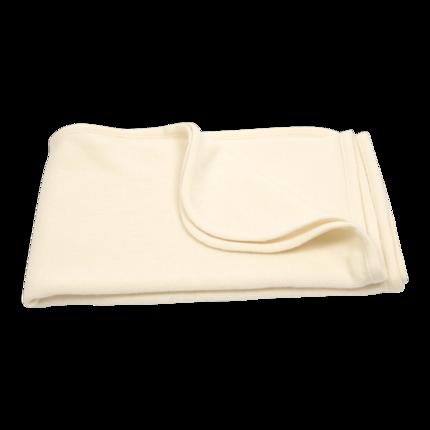 couverture de bébé en laine mérinos-écrue-naissance-emmaillotage-douce-maternité