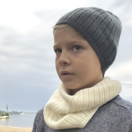 Snood laine mérinos Edgar