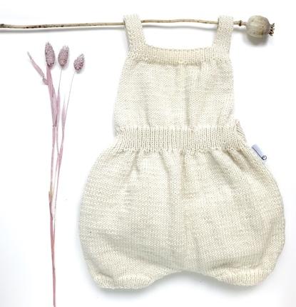 Barboteuse bébé laine