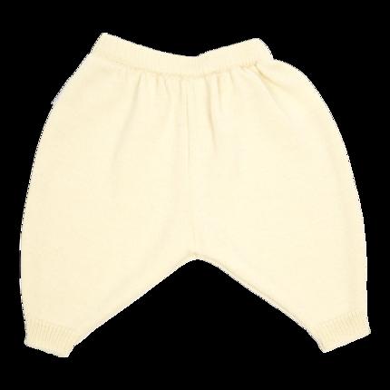 vetement de bébé-layette-pantalon en laine mérinos d\'Arles-ecru-maternité-cadeau de naissance-naturel