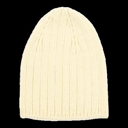 vetement de bébé-layette-bonnet en laine mérinos d\'Arles-ecru-cadeau de naissance-naturelle