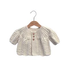 Brassière bébé en laine mérinos