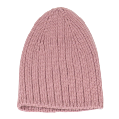 Bonnet Pépite rose