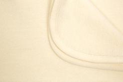 couverture de bebe-en laine merinos-ecrue-naissance-douce-emmaillotage-chaude-naturelle