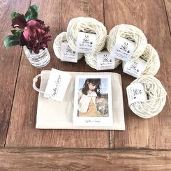 Pelotes kit à tricoter