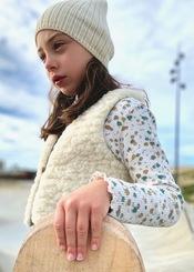 Gilet enfant laine des Pyrénées