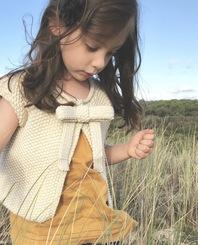 Le kit à tricoter - LA VESTE À NOEUD