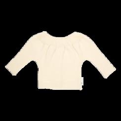 vetement de bebe-brassiere-layette-en laine merinos-écrue-douce-naturelle