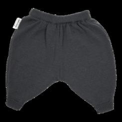 vetement de bebe-layette-pantalon-en laine merinos-gris-douce