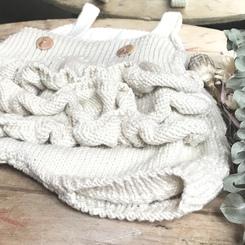 Barboteuse tricot bébé