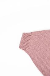 vêtement de bébé-layette-pantalon en laine merinos-rose-douce-naturel