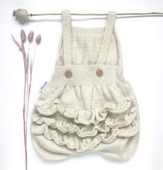 Barboteuse laine bébé