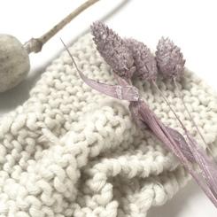 Bandeau headband laine