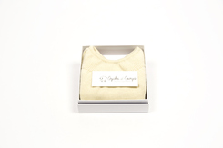 vetement de bebe-layette-brassiere en laine mérinos d\'Arles-ecru-cadeau de naissance-douce-maternité