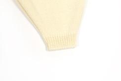 vêtement de bébé-layette-pantalon-laine-merinos-ecru-chaud-naturel