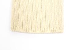 vêtement de bébé-layette-bonnet en laine merinos-ecru-naissance-naturelle