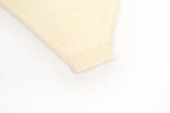 vêtement de bébé-layette-pantalon en laine merinos-ecru-douce-naturel